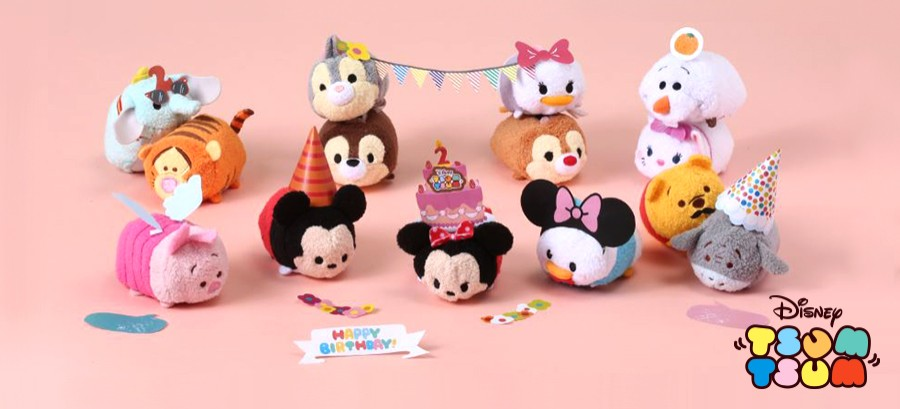 Happy Birthday Tsum Tsum!  My Tsum Tsum
