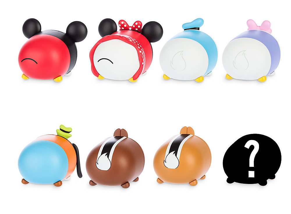 Mickey And Friends Tsum Tsum Vinyl Figures My Tsum Tsum