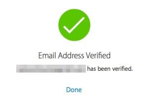 Verified Email Address