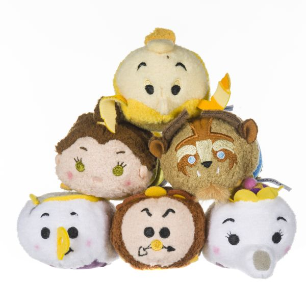 Beauty and the Beast Tsum Tsum Collection by Posh Paws