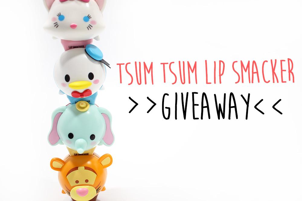 My Tsum Tsum Lip Smacker 2 Giveaway