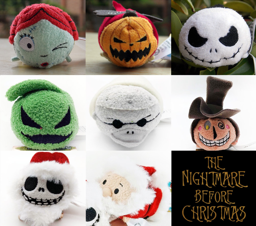 Preview: New The Nightmare Before Christmas Tsum Tsum Collection ...