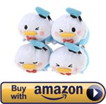 Mini Donald Expressions Tsum Tsum Set