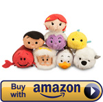 Mini The Little Mermaid Tsum Tsum Set