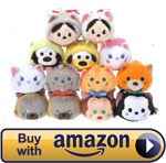 Mini Cat Tsum Tsum Set