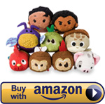 Mini Moana Tsum Tsum Set