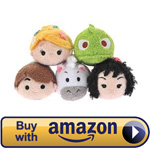 Mini Tangled Tsum Tsum Set